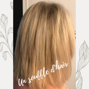 Blond très clair méchés - weelova - soin