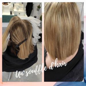 Blond méchés - weelova - soin